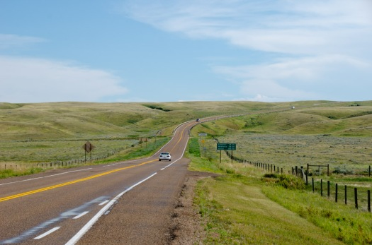 The Road to Cypress Hills, AB