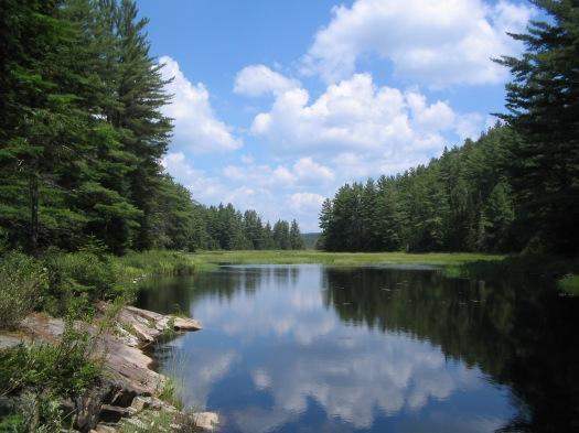 Original picture of Mizzy Lake, taken in 2006