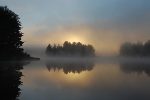Sunrise on Kearney Lake