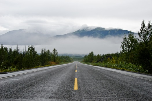 The Cassiar Highway. Despite the rain, this is one of my favourite pictures from the trip