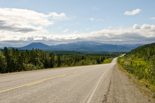 First views of Yukon on the Alaska Highway!