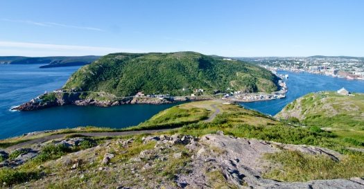 View of the Narrows from Signal Hill