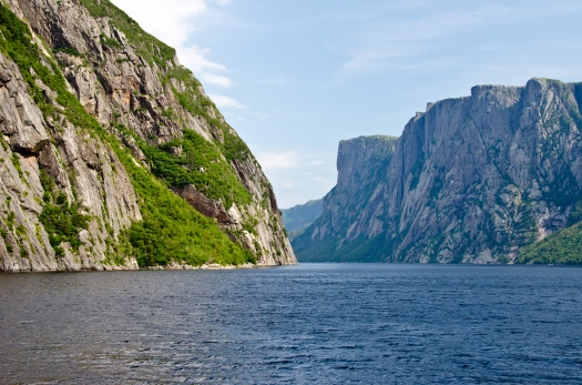 Western Brook Pond, Gros Morne, Newfoundland