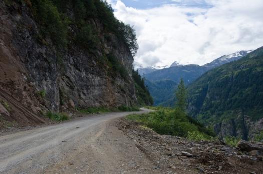 The Road to the Salmon Glacier